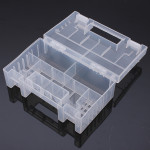 Transparent Plastic Battery Holder Storage Case For AA AAA Tools Box Professional Instruments & Tools