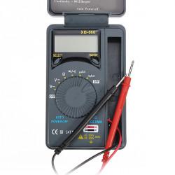 XB 866 LCD Mini Auto Range AC / DC Taschen Digital Multimeter