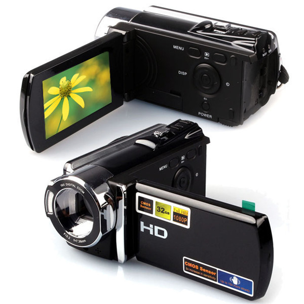 1080P Digital Video Camcorder Full HD 16 MP 16x Digital Zoom DV Camera Kit Photography & Camera Acc