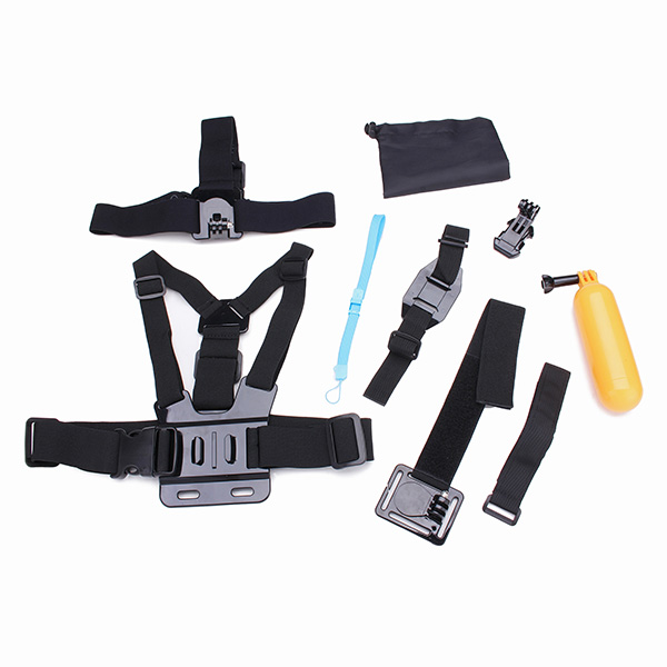 10 I 1 Model B Chest Belt og Model A hoved Strap Tilbehør Kit For Gopro Hero 4 3 3 Plus