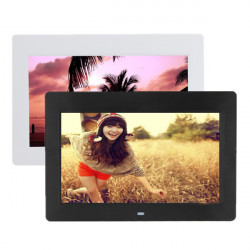 10 Inch HD TFT-LCD Digital Photo Movies Frame MP4 Player Alarm Clock