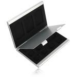 12 Slots Aluminum 8 X TF 4 X SD-hukommelseskort Opbevaring Box Case Holder Beskyttelse Foto & Video