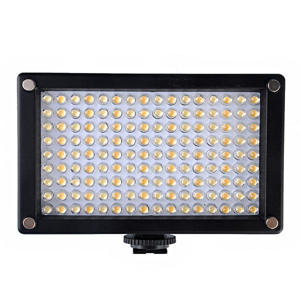 144AS LED Videokamera Licht Lampe Bi Color Temperatur 2354lux Foto & Kamerazubehör