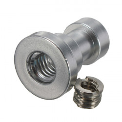 1/4 And 3/8 Female Threaded Tripod Screw Adapter To Flash Bracket