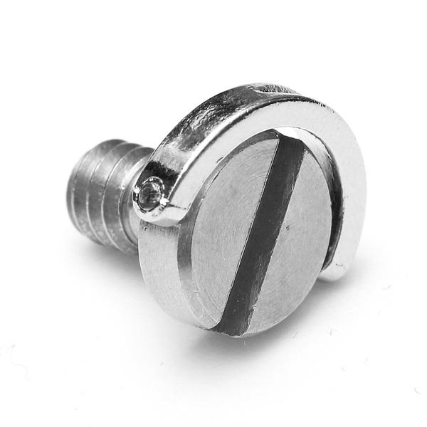 1/4 tums D-ring Skruv rostfritt stål för kamera stativ Monopod Foto & Video