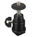 1/4 Inch Hot Shoe Ball Head Flash Bracket Holder Mount For Camera Tripod LED Light Photography & Camera Acc
