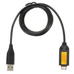 1,5 m USB Datenkabel für Samsung Kamera SUC C3 NV4 SL420 SL600 TL100 X186 Foto & Kamerazubehör