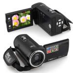 """16 Mp Max 720P HD 16 X Digital Zoom Digital Video Digitalt Videokamera med 2.4"""" LCD-skærm Foto & Video"""