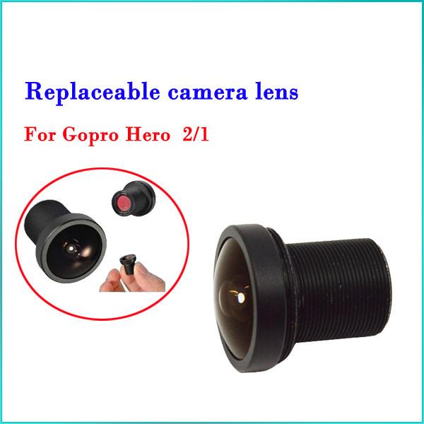 170°s Bred Udskiftning Kamera Linse til GoPro Hero 2/1 Kamera Foto & Video