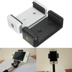 1PCS Universal Mobile Smart Phone Bracket Clip Holder For Tripod Monopod Stand