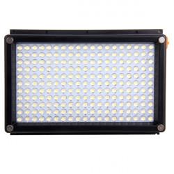209AS LED Video Camera Lys Lampe Bi-farve Temperatur 3950lux