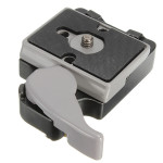 323 Quick Release Clamp Adapter With 200PL-14 QR For Manfrotto Camera Tripod Photography & Camera Acc