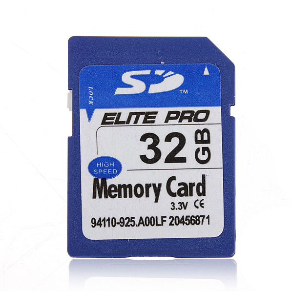 32GB 32G SD HC Secure Digital High Speed Flash Memory Card For Camera Photography & Camera Acc