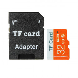 32GB Micro SD TF Secure Digital High Speed Flash Memory Card Class 10 With Adapter