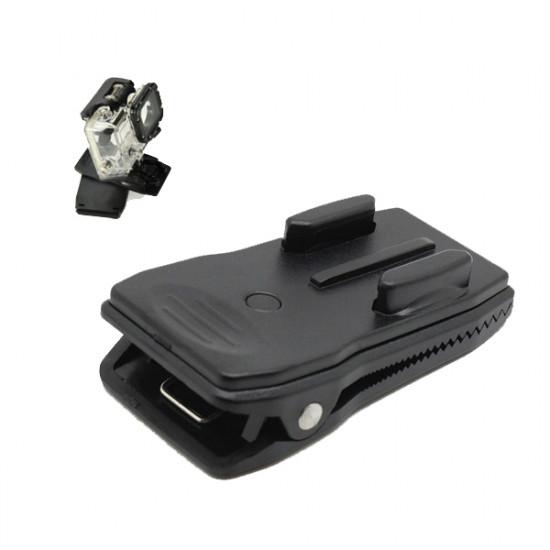 360 Grader Roterande Snabb Clip Montering för GoPro Kamera Hero 1/2/3/3 + 2021