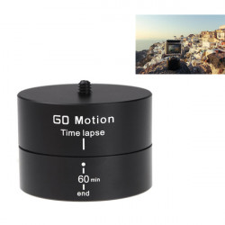 360 Grader Panorering Stabilisator Roterende Tripod Adapter for Gopro DSLR Phone