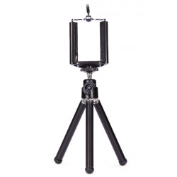 360 Umdrehung Stativ mit Halterung Halter für Kamera Handy Standplatz