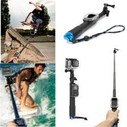 39 Inch 98cm Handheld Grip Monopod Pole With WIFI Remote Case For Gopro Hero 2 3 3+ 4