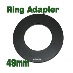 49mm Adapter Ring For Cokin P Series Black