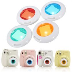 4 Farver Sæt Filter Nærbilleder Lens til Fujifilm Instax Mini 7s Mini 8 Kamera