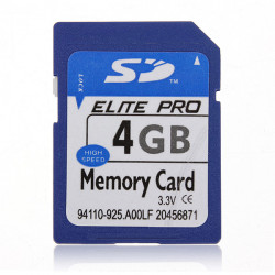 4GB 4G SD HC Secure Digital High Speed Flash Memory Card For Camera