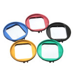 58mm Alloy Aluminum UV Filter Lens Adapter For Gopro Hero 3 Photography & Camera Acc