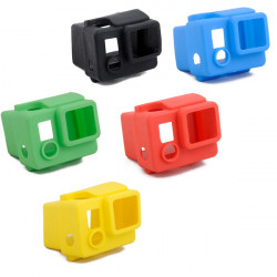 5 Colors Silicone Protective Case Cover Skin For GoPro 3+