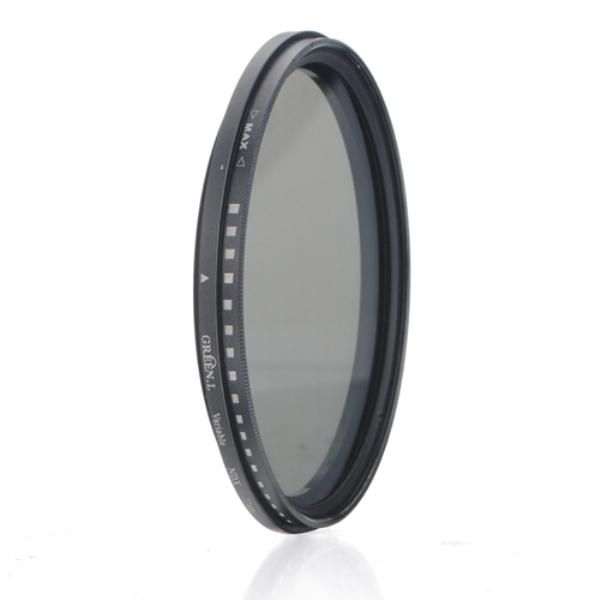 67mm ND-filter Neutral Density Från ND2 till ND400 Foto & Video