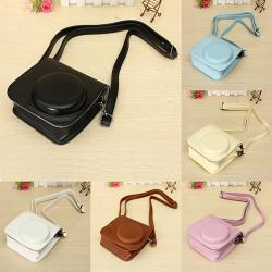 6 Farben PU Leder Kameratasche Schultertasche für Fuji Fujifilm Intax Mini 8 / 8s