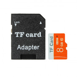 8GB Micro SD TF Secure Digital High Speed Flash Memory Card Class 10 With Adapter