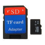 8G Micro SD TF SDHC Secure Digital High Speed Hukommelseskort Class 4 Adapter Foto & Video