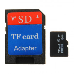 8G Micro SD TF SDHC Secure Digital High Speed Flash Memory Card Class 4 Adapter