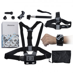 8 In 1 Dazzne KT-117 X-games Mount Suit Kit For Gopro Hero 1/2/3/3+