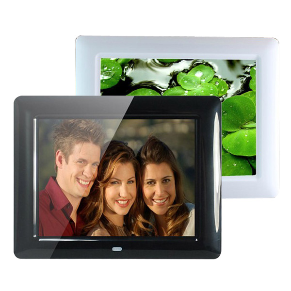 "8"" HD TFT-LCD Digital Film Frame MP3 MP4-spelare Fjärrkontroll Foto & Video"