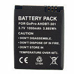 AHDBT-301 Camera battery for Gopro Hero 3,1050mAh ST-36 Photography & Camera Acc
