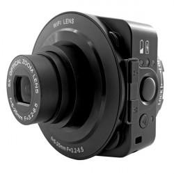 AMKOV JQ-1 360 Graders Rotation 20.0 Megapixel 5x Zoom Wifi Kontroll Novelty Kamera / Videokamera Lins
