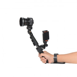 AMKOV LENS OX5 WIFI 20MP Kamera 120 Grader Vidvinkel med Phone Clip Yunteng C088 Monopod