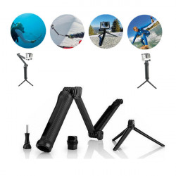 Adjustable 3 Way Multi-Function Grip Arm Monopod Tripod Mount For GoPro 4 3+ 3 2