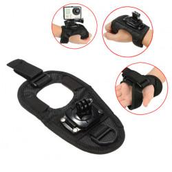 Justerbar Palm Wrist Band Hand Strap Mount til GoPro Hero 1 2 3 3+