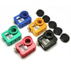Aluminium Beskyttende Case Housing Shell med Lens Cap for GoPro HD Hero 3 3+