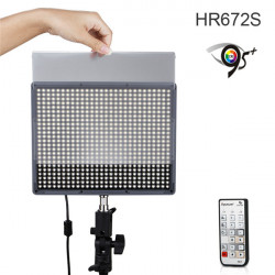 Aputure Amaran HR672S High CRI95+ 672pcs LED Video Light Spotlight With 2.4G Wireless Remote Control