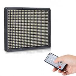 Aputure Amaran HR672W Hoch CRI95 + 672 LED Videoleuchte Panel 5500K für Kamera