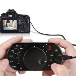Aputure V-Control UFC-1S USB Fjernbetjening Følg Focus Controller for Canon 5D Mark II III 70D 7D 60D 650D 600D 700D