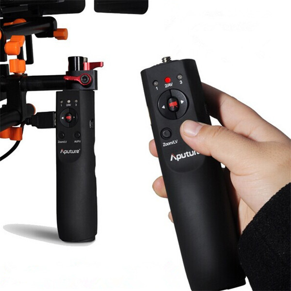 Aputure V-Grip VG-1 USB Focus Håndtag Grip Følg Focus Controller for Canon 5D Mark III II 7D 60D 5D2 5D3 Foto & Video