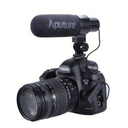 Aputure V-Mic D1 Directional Condenser Shotgun Microphone For Video Shooting Camera DSLR