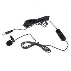 BOYA BY-M1 Omnidirectional Lavalier Mikrofon för Canon Nikon Sony DSLR Videokamera och Ljudinspelare