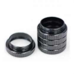 Schwarz Makro zu verlängern Der Ring des Objektiv C Schnittstelle Macro Ring