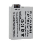 CAN.LP-E8 Rechargeable 1350mAh 7.4V Li-ion Protected Battery Photography & Camera Acc