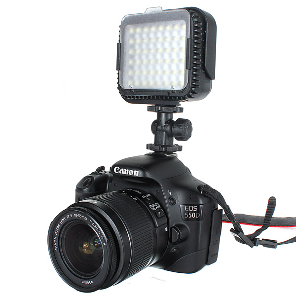 CN-LUX480 LED Video Light Lamp For Canon Nikon Camera DV Photography & Camera Acc