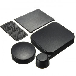 Camera Lens Cap And Battery Door Replacement With Side Door Cover For GoPro HD Hero 3